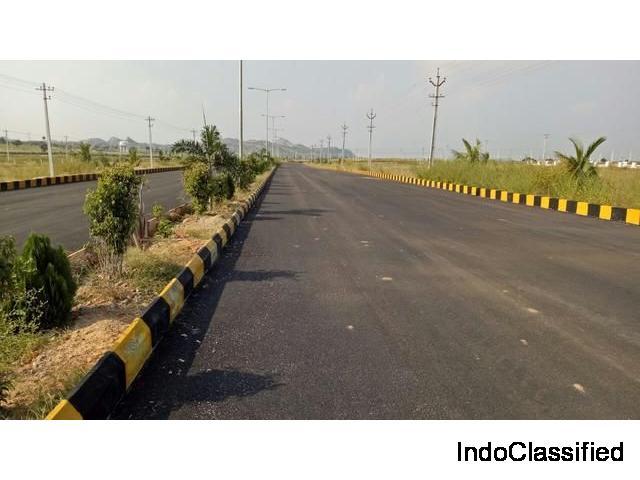 Open plots on easy installments at Bhongir jagdevpur road Hyderabad.