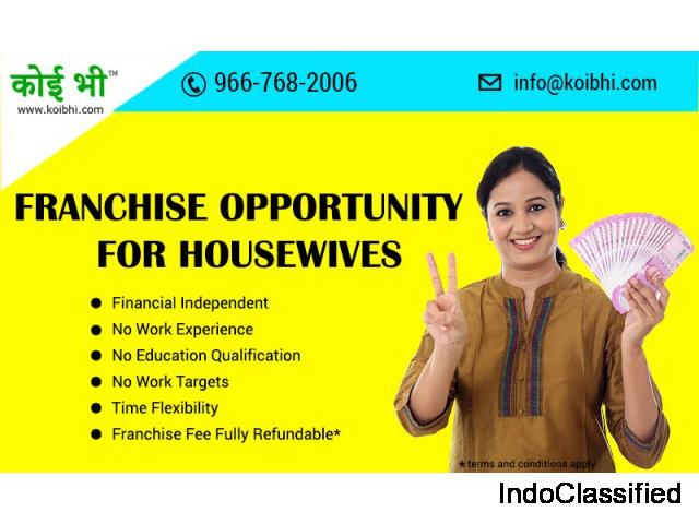 Franchise Opportunities For Housewives By Koibhi.com