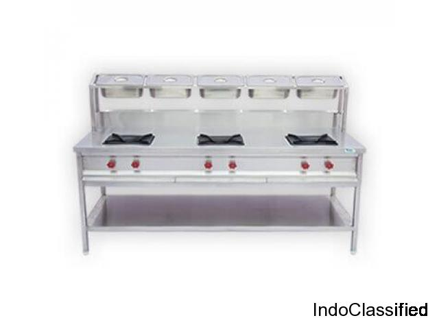 Top-Notch Commercial Kitchen Equipments Manufacturer in India