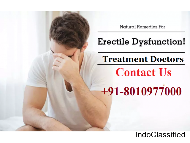 Erectile Dysfunction Treatment Doctors in New Friends Colony