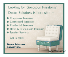 Best Interior designing firms in delhi ncr