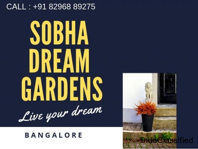 Sobha Dreams Gardens| Buy 1/2 Bhk Apartments in Bangalore