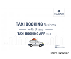 Advanced  Taxi Booking  Script