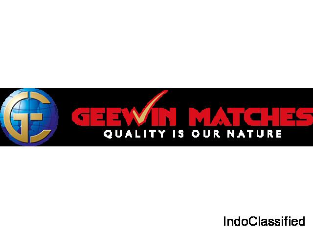Safety Matches Supplier in Madurai | Geewinmatches