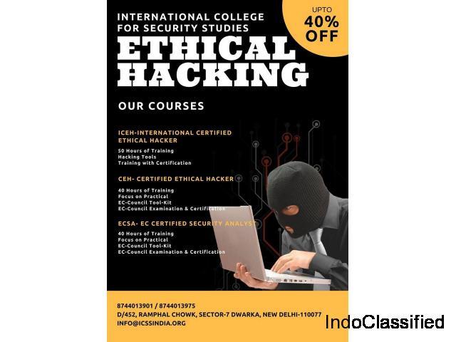 Cyber Security training & Certification in Delhi   CEH, CHFI , LPT, ECSA, CND,