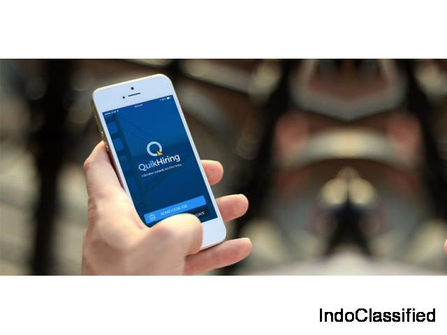 QuikHiring App Means To Search Job Smartly