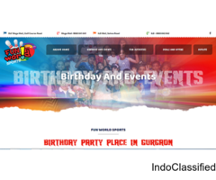 Best Birthday Party Place in Gurgaon, Delhi NCR