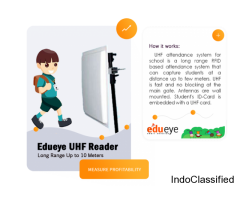 edueye smart solution manangement & security with RFID/UHF attendance system