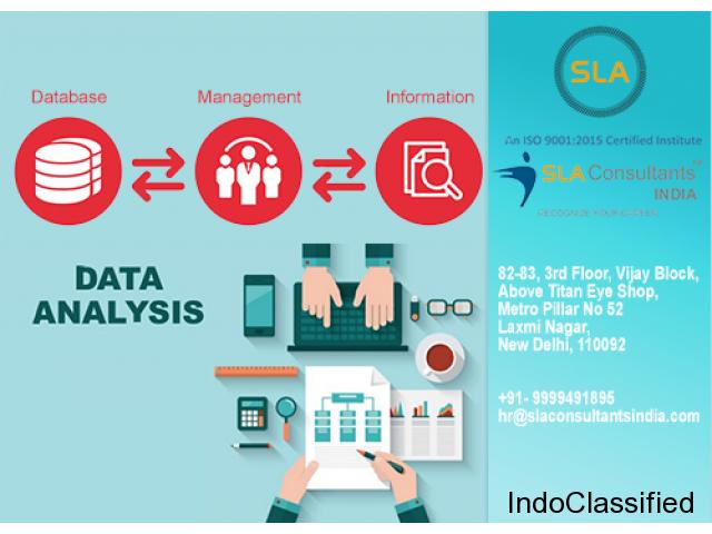 Best Data Analytics Training Course Provider Institute in Delhi - SLA Consultants India