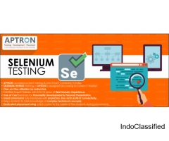 Selenium Training in Noida with Placement Support