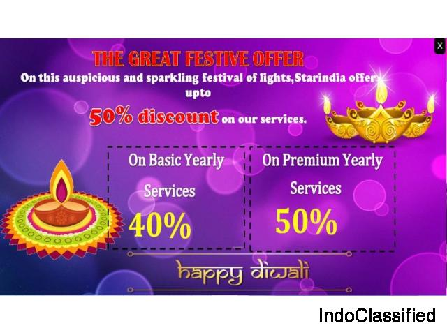 Diwali Discount Offer by StarIndia Market Research