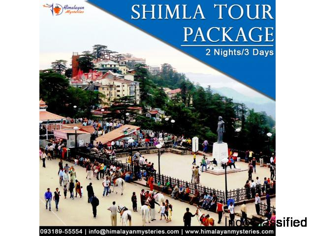 Shimla Tour Package Himalayan Mysteries