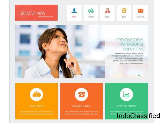 Creative Joomla Website Templates -Creative Template