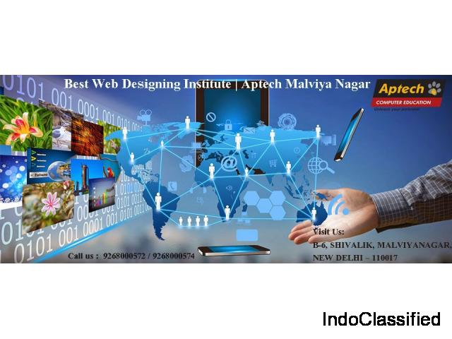 Top Institute Providing Web Development Course | Aptech Malviya Nagar