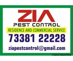 ZiA Pest Control in Bangalore | 100% safe at Low Rate