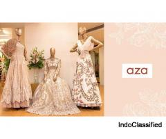 Designer Wedding Wardrobe - Aza Fashions
