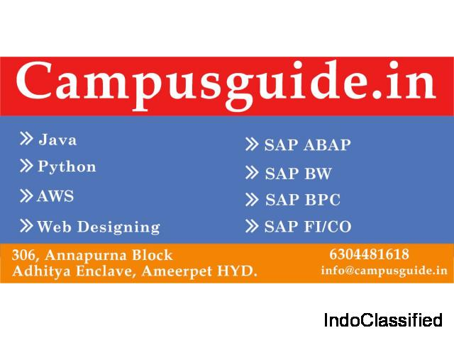 Online and class room training- campusguide