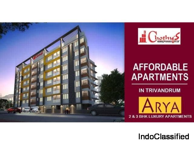 Chothys Builders ARYA Luxury Appartments Thycadu 9020263103
