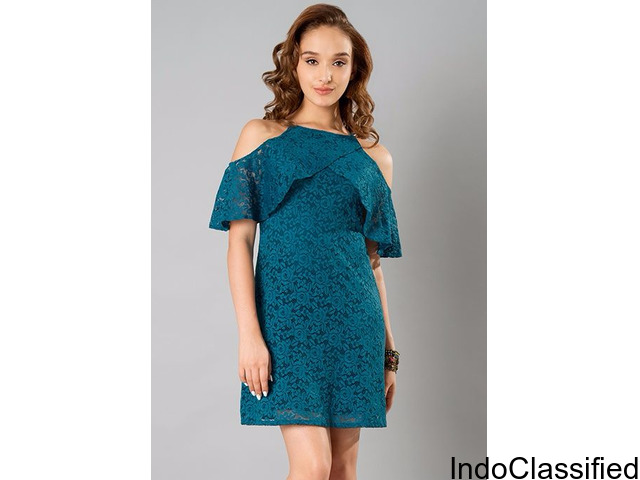 Lace Dress - Adds A New Look To Your Wardrobe Collection