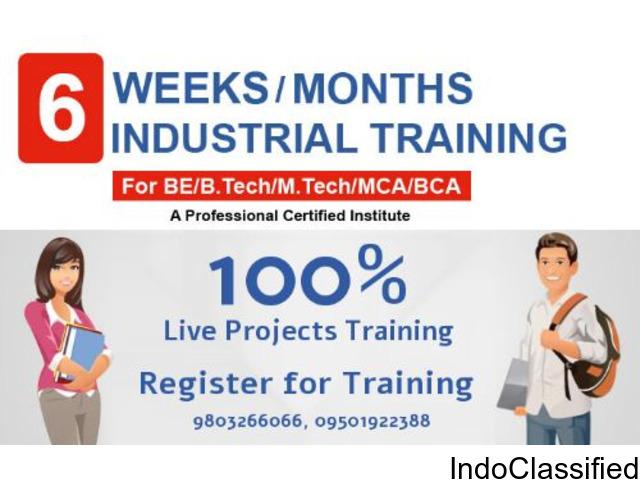 Industrial Training in PHP, Java, Andoird, .Net, iOS, Digital Marketing