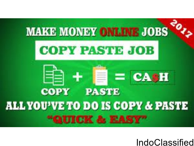 Online Jobs,Part time Jobs,Home Based Jobs for House wives, Retired persons, College students.