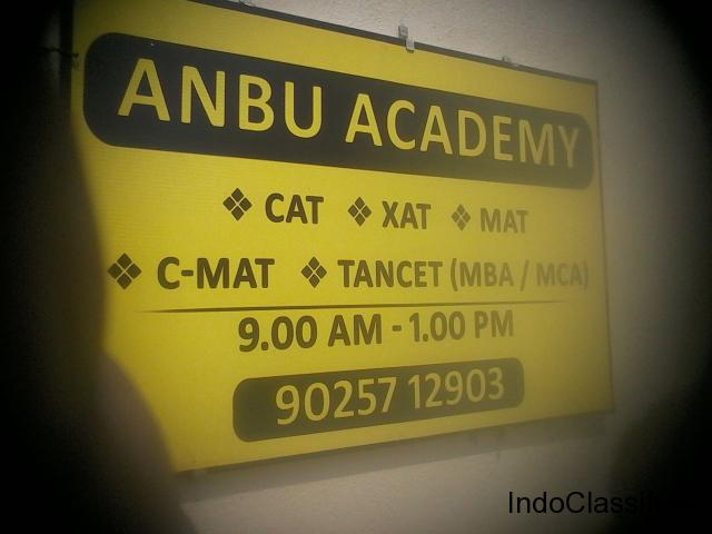 COACHING CLASSES FOR MBA & MCA ENTRANCE EXAMS