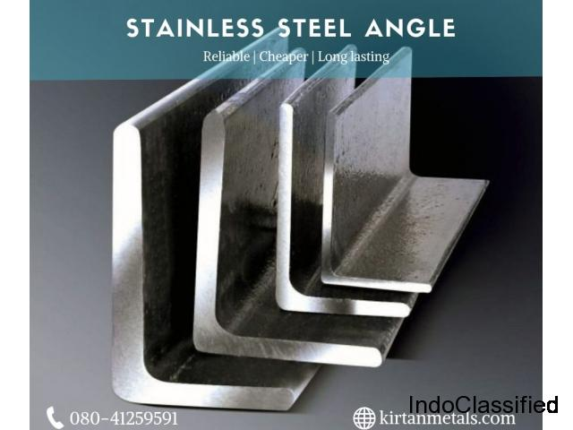 Stainless steel angle suppliers