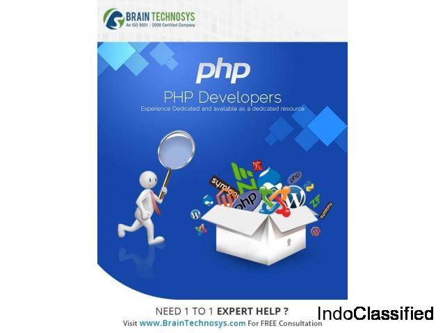 Awesome PHP Development Services - Brain Technosys