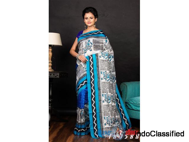 Buy Latest silk saree   Tumi Ethnic