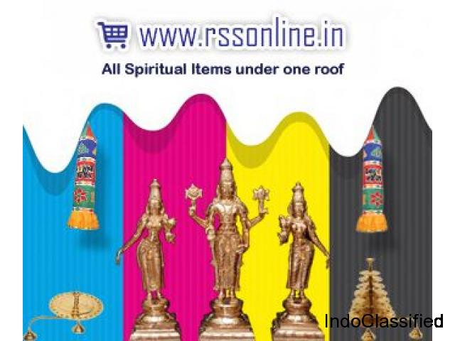 Spiritual Shopping Website - Temple and home pooja Product - rssonline