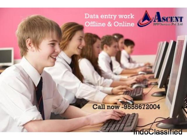 We are offering Data Entry Projects, Data entry work & Data entry Outsourcing Services