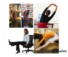 Some Best Workout You Can Do At Your Desk