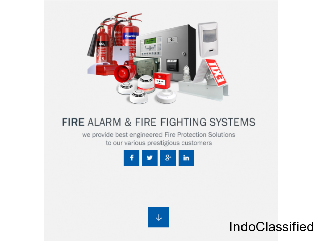 CCTV installation and Fire alarm Systems in Ernakulam