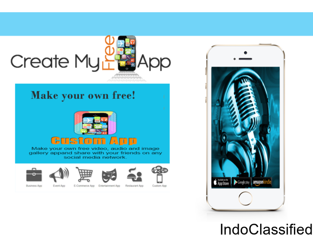 CreateMyFreeApp - Create your own free business app without coding