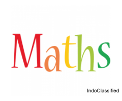 Maths home tuition for CBSE State board International boards