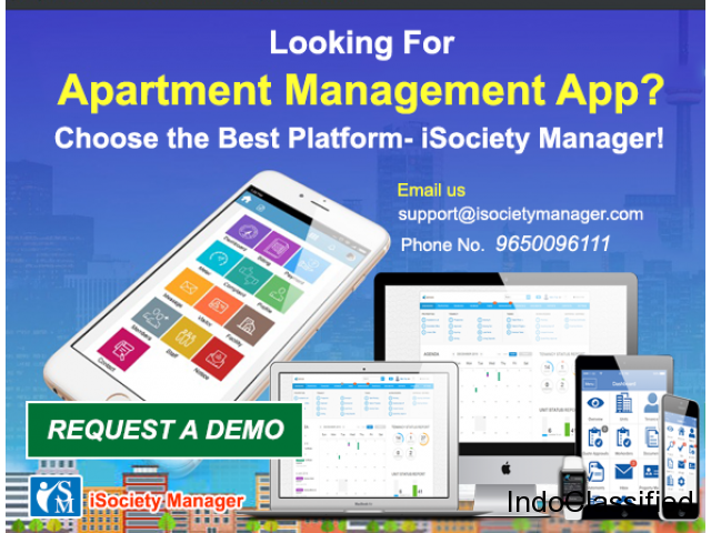 Looking For Apartment Management App? Choose the Best Platform- iSociety Manager!