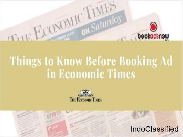 Book Your Education Advertisement in The Economic Times