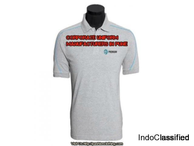 Corporate T Shirt Manufacturers in Pune