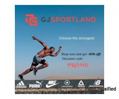 GJsportland.com - sporting goods for the best price!