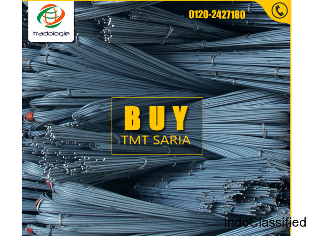 Buy Bulk TMT Bars, TMT Saria Directly From Manufacturers Through Tradologie