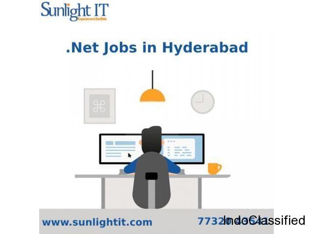 Dot net jobs in Hyderabad