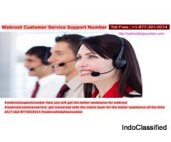 Webroot Support Number Customer Care Number 8773010214