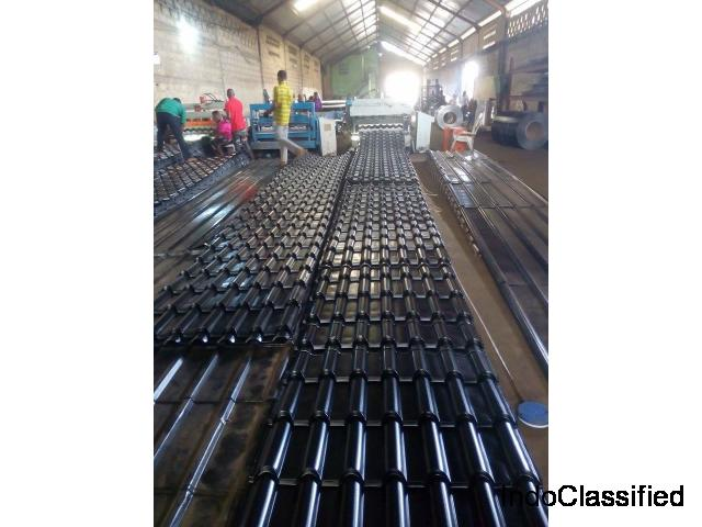 Von Aluminum technology is a name first in stone coated roofing sheet.