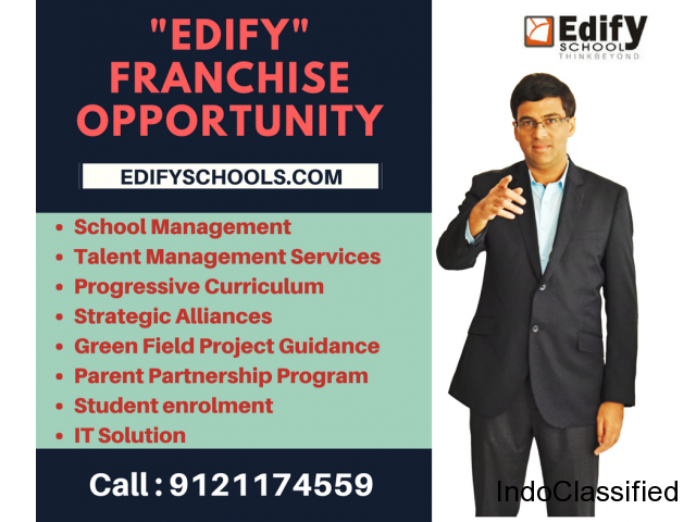 International school Franchise ,Edify Schools