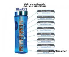 Portable Alkaline Water Bottle - BlueQQ India