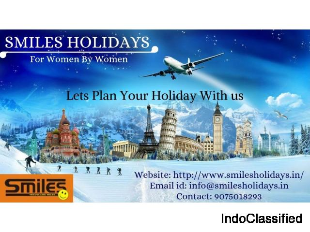 Best Tours and Travel agency in Pune - Smiles Holidays