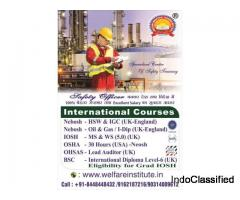 Safety Officer Course(nebosh/iosh/osha)