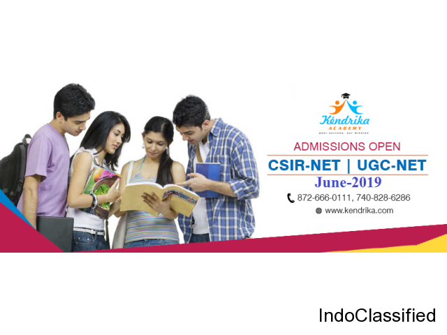 CSIR-NET & UGC-NET 2019 Coaching at Kendrika Academy Lucknow