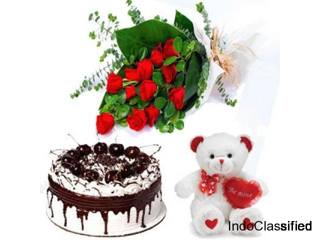 Online flowers and cake delivery