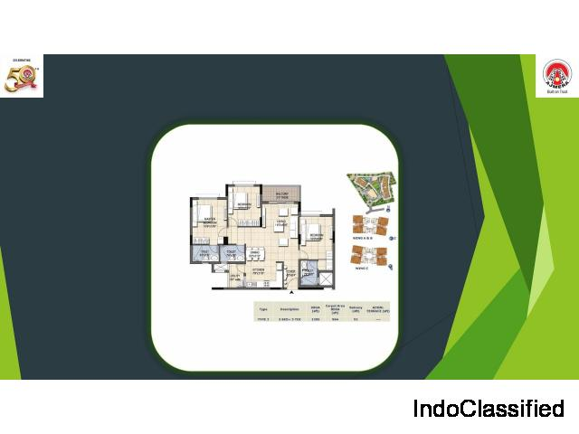 Ajmera Nucleus is located in Electronic City, Phase 2, Bangalore.